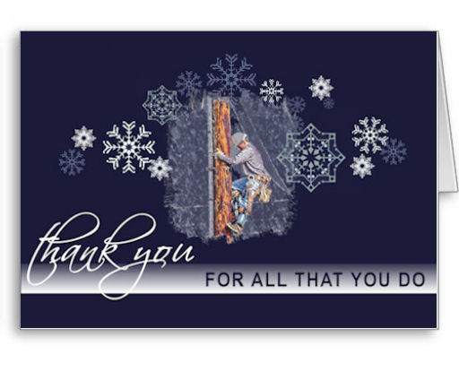 Tnt thank you lineman christmas or new year greeting cards thank a lineman holiday greeting cards a thoughtway way to show your appreciation for a m4hsunfo