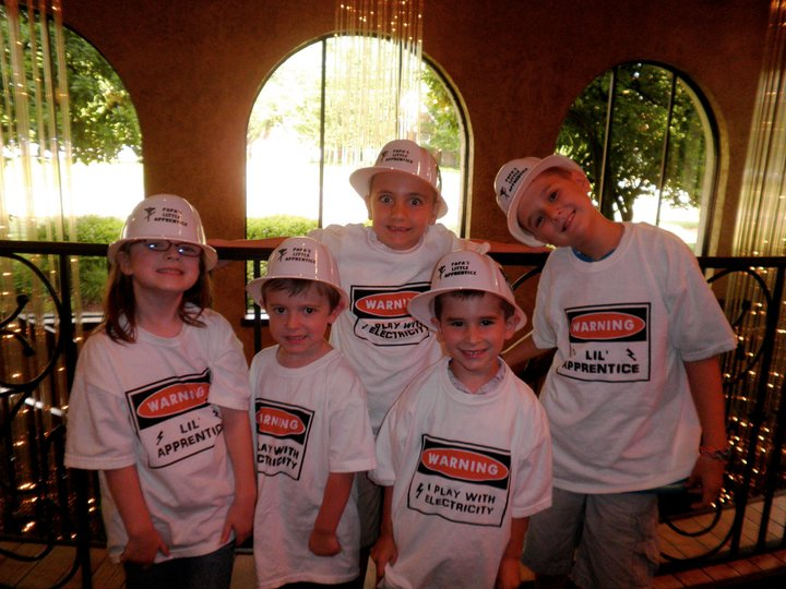 Let The Children Have Some Fun At Your Next Party Our Hats And Tshirts