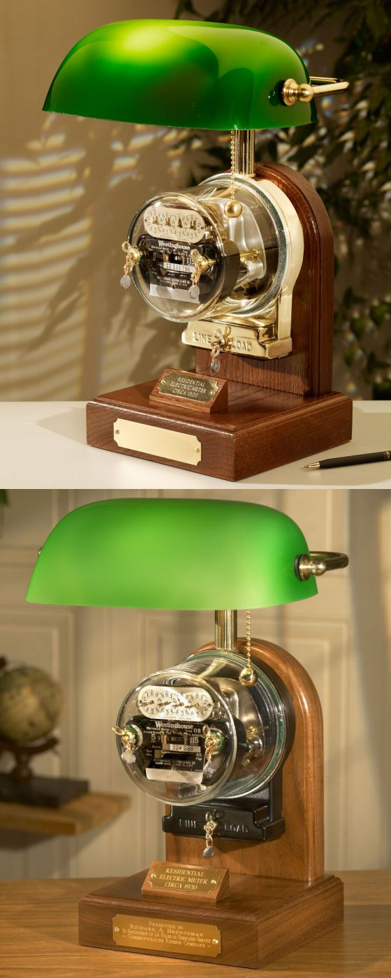 Antique Electric Residential Meter Lamp - THE METROPOLITAN