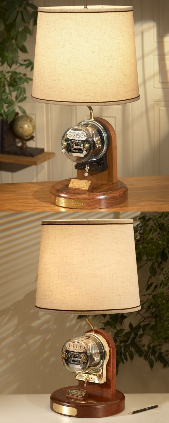 The Westinghouse Antique Electric Meter Lamp Is A Museum Piece Quality Clic Electrical Instrument And True Surviving Relic Of