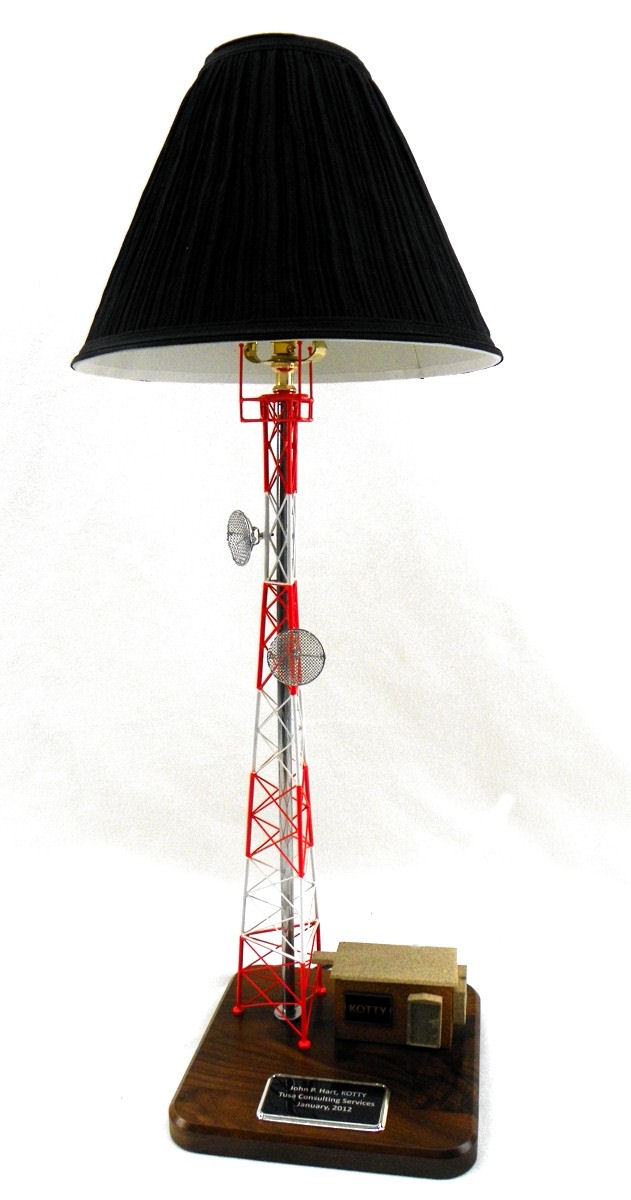 Great Self Support Tower Lamp Gift For Telecommunications Industries Including  Cellular, Wireless And Radio.